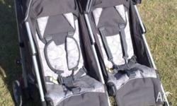 Easy to fold, easy to transport. The BabyLove Twin