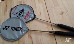 $30 for 2 badminton rackets: 1x Dunlop Max series