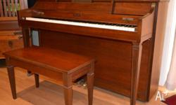 American Made, well loved Baldwin piano from the 80's.