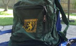 This is a Balwyn High School bag. It is in very good