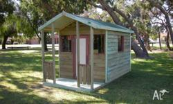 Brand new Banksia cubby house from For Your Backyard.