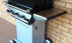 Beefeater 3000E series 3 burner barbecue with the