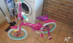 40cm barbie bike baught a year ago. Great condition my