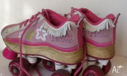 Barbie Stylist Roller Skates Kids Size 11 (see other