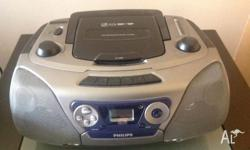 The CD player has only been used a few times and it can