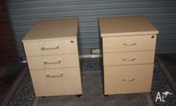 Bargain! $30 each Bedside tables x2, pine, heavy and