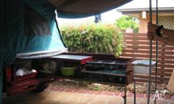 Bartell camper trailer, full off road built for the