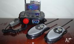 Base station and 2 hand helds. Excellent condition.