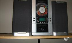 BASE brand..vertical cd micro hifi am�fm