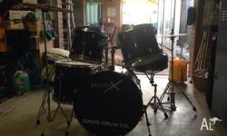 Selling a Basix drum kit needs a couple of skins