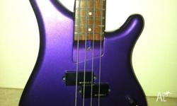 Fernandes Bass Guitar. Perfect condition. Short Scale,