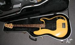 Hi there for sale is an american standard fender p bass