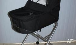 Valco Bassinet with stand. Fantastic for new borns