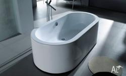 Free-Standing Bath Range Made from Acrylic RN1027