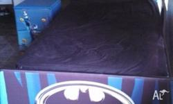 3 piece BATMAN bedroom suite excellent condition,