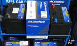 battery new ac delco maintenance free to suit commodore