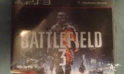 Selling my battlefield 3 for ps3, quick sale so cheap