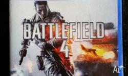 Battlefield 4 for PS4, in perfect condition. $25