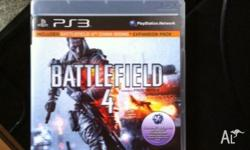 Battlefield 4 for ps3, perfect condition. Used, but no