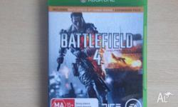 For sale is my copy of battlefield 4 on Xbox One. It's