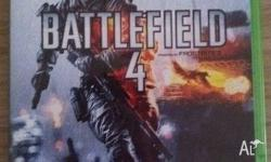 Battlefield 4 (Xbox One) In excellent condition, hardly