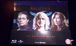 Battlestar Galactica Complete Series BLURAY Seasons 1-4