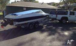Bayliner Capri 2050 bowrider fitted with 5.7 litre