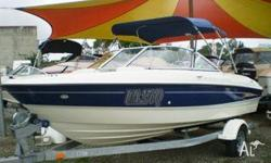 BAYLINER 1850, BAYLINER 1850 BOWRIDER WITH A 4.2 LTR