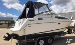 Bayliner 2355 cruiser 1999 model powered by a