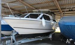 This Bayliner 2452 Hardtop is a great family weekender