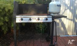 This basic Jumbuck 4 Burner BBQ is $139 if you buy from