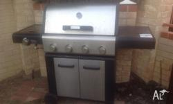 Good quality worth about $600 5burner comes with full