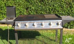 All parts working well 6 burner Side wok burner very