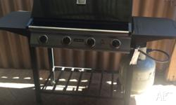 clean Jumbuck BBQ for sale. Comes without gas bottle