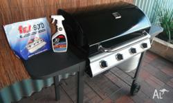 Four burner JumBuck BBQ in good condition. Also comes