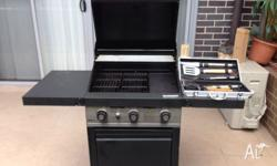 Hi I am selling BBQ - USED (hardly used) - GRANDHALL