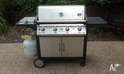 For Sale: Jackeroo Professional 4 Burner BBQ SS series.