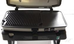 Fire & ice portable BBQ with built in cool box NO PHONE