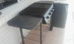 Two BBQ's for sale. -One large with four elements split