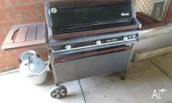 Have a look at our beautifull BBQ with spare parts,