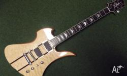 For sale is a BC Rich NJ Classic Series Mockingbird
