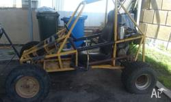 Beach Buggy, 250 bike motor, 4 stroke, Professionally