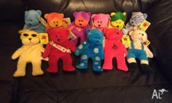 Retired Beanie Kids, all with original Tags, and in