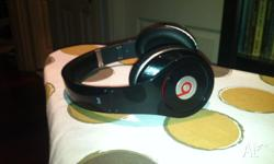 Beats by Dre Studio Headphones for sale. About a year
