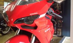 This poor Ducati has been waiting quietly for some time