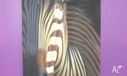 Beautiful And Rare Zebra Print. Many Different Prints