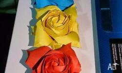these roses in pictures are all made by myself. all