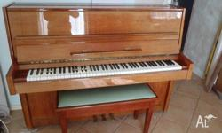 Gorgeous light timber Piano, unsure what is made from