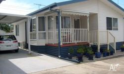 this beautiful proesented kit home is situated in a