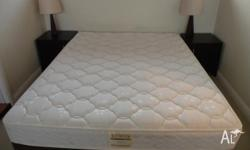 A comfortable Queen size box spring purchased from